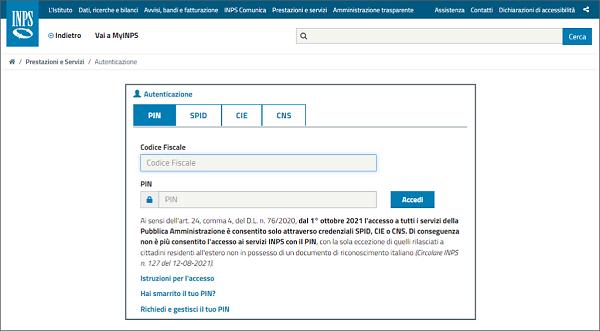 Dichiarazione precompilata info e assistenza come utente for Inps on line accedi ai servizi